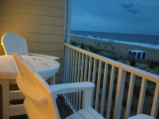 Atlantic View Hotel: Sundown