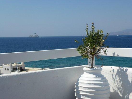 Marietta's Apartments & Studios: View from rooftop verandah perfect