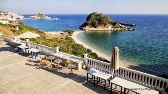 Sunrise Beach Hotel: Hotelterasse