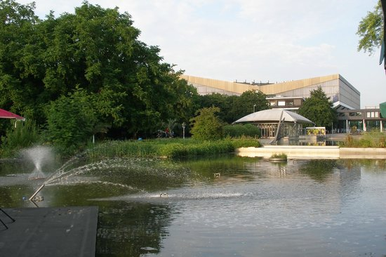 Grugapark Essen: lake :)