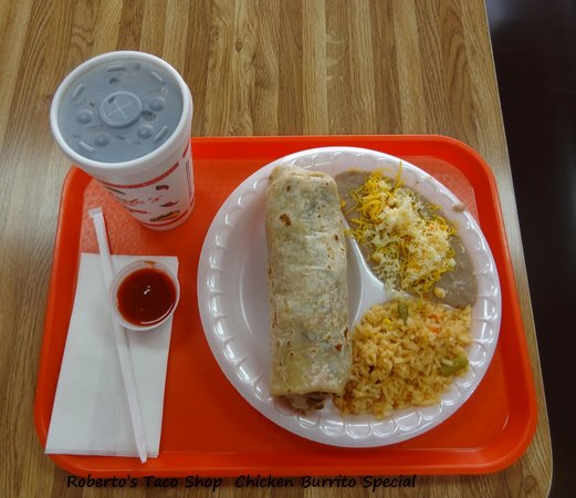 Roberto's Taco Shop: Great Meal for the Price