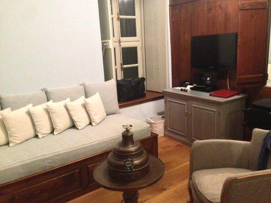 Cotommatae Hydra 1810 : Il salottino della nostra piccola suite