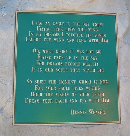 Dennis Weaver Memorial Park: Poem written by Dennis Weaver