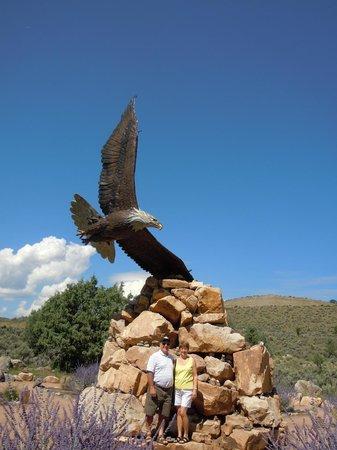 Dennis Weaver Memorial Park : Bronze Eagle