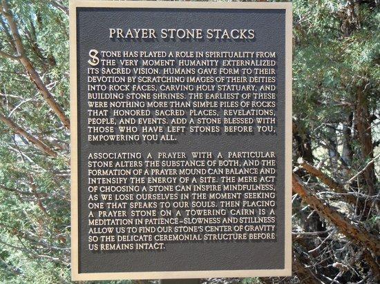 Dennis Weaver Memorial Park : The story of Prayer Stone Stacks