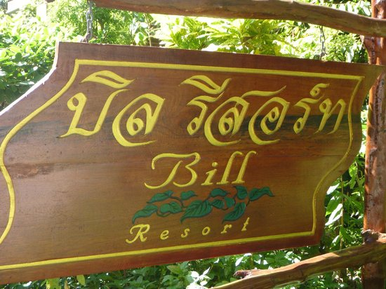 Bill Resort: Insegna