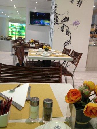 BEST WESTERN Atlantic Hotel : sala buffet