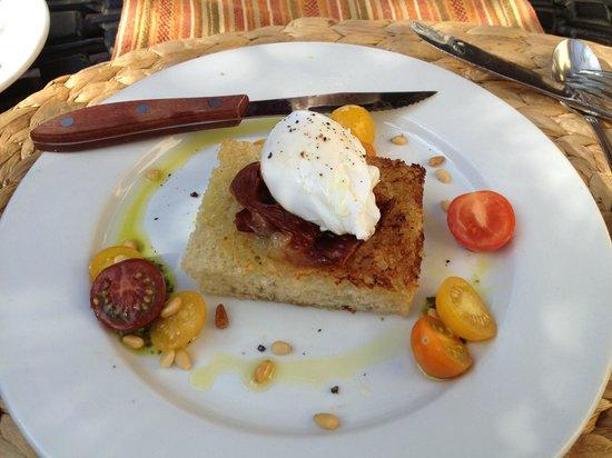 Casa Laguna Hotel & Spa : Lemon Pesto Benedict