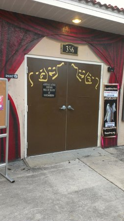 Highlands Little Theatre: Beyond these doors is some wonderful community theatre.