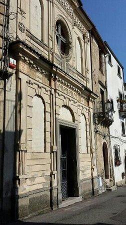 San Fili, إيطاليا: facciata  san flli carmelo