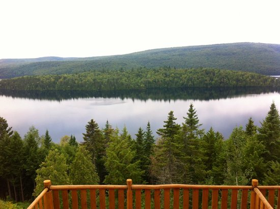 Hotel Sacacomie : Awesome lake view
