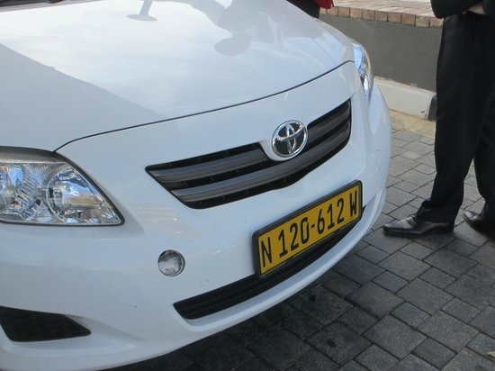 Hilton Windhoek: Mr. Driver's Car