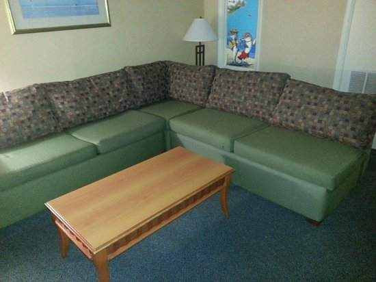 Dolphin Inn: Couch pulls out