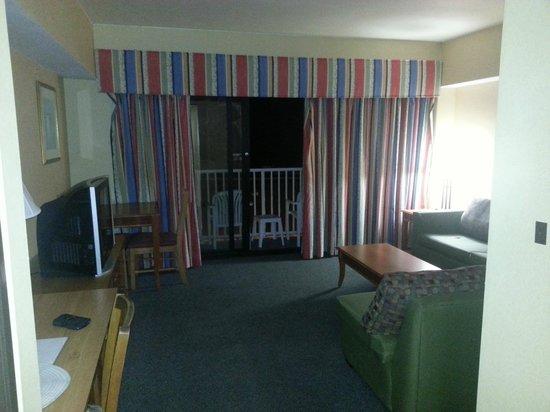Dolphin Inn: living room