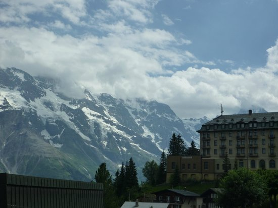 Eiger Guesthouse: The View