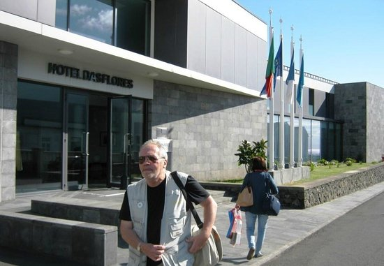 Flores Hotel - Inatel: main entrance
