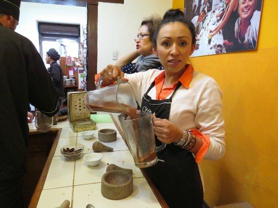 Choco Museo: Mayan drink