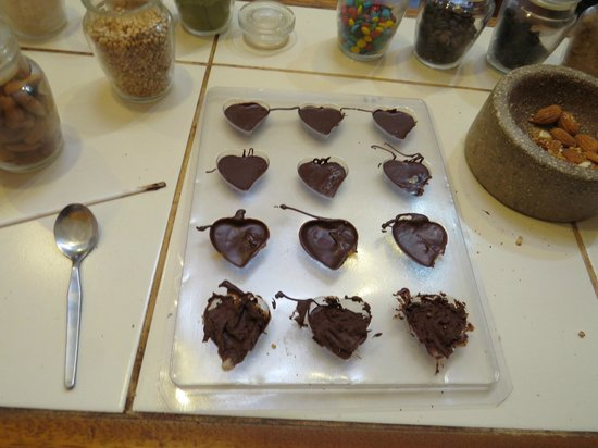 Choco Museo: final product