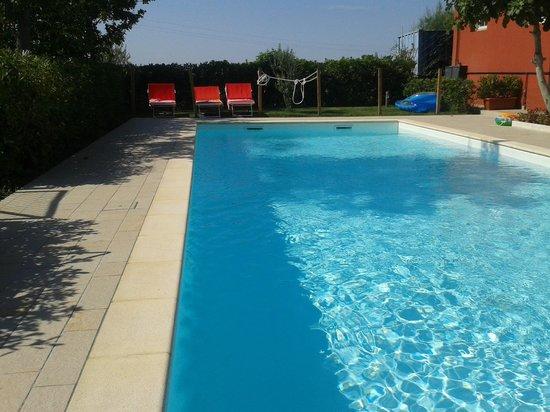 Tenuta Santini: piscina
