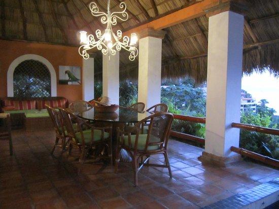 Casa de los Arcos: Dining room