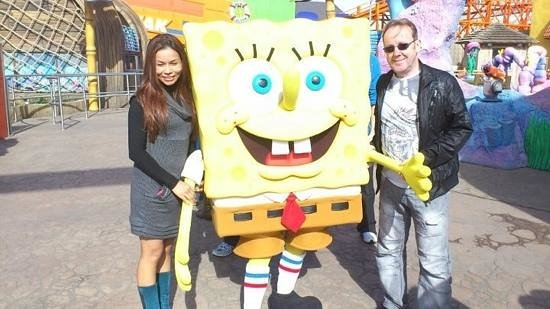 David and Wahn's Seaview Guest House: sponge bob says come to the Seaview