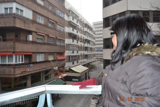 Mercure Madrid Plaza de Espana: Vista desde el hotel