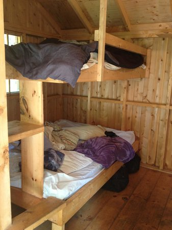 Roxys Gas & Variety Cabins & Tent Sites: cabin#4 inside