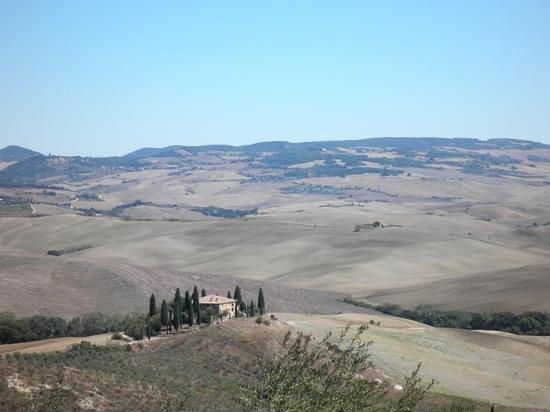 Ristorante La Taverna Del Barbarossa: uitzicht vanaf het terras