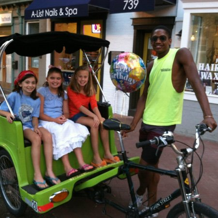 National Pedicabs: Birthdays, anniversaries, or any other great occasion - pedicabs are a great way to celebrate!