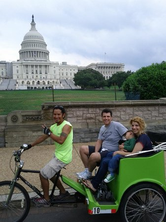 National Pedicabs: No better way to see the sites of DC!