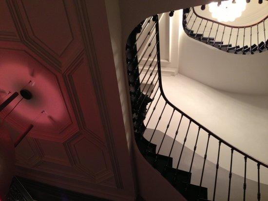 Le Montauban : L'escalier