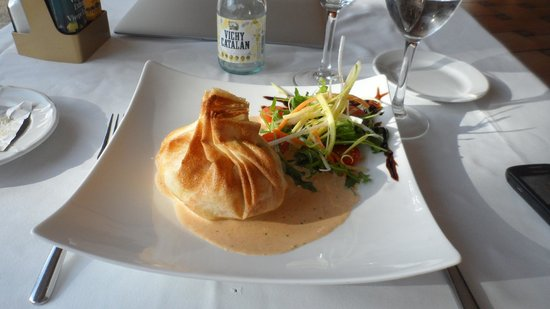 Hotel Coma Restaurant: Salmon souffle