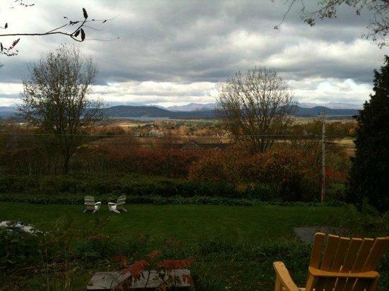 Mt. Philo Inn: View from inn