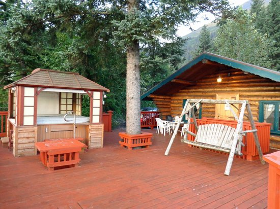 Hotel Seward : Cabin on the Cliff