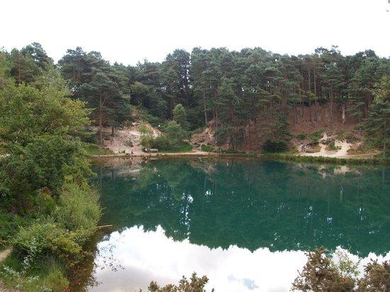 The Blue Pool and Tea House: Blue Pool 1