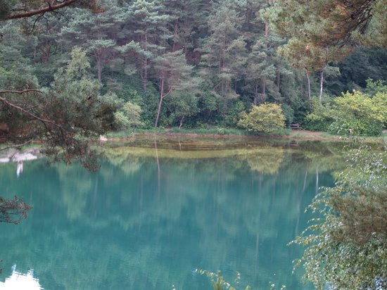 The Blue Pool and Tea House: Blue Pool 2