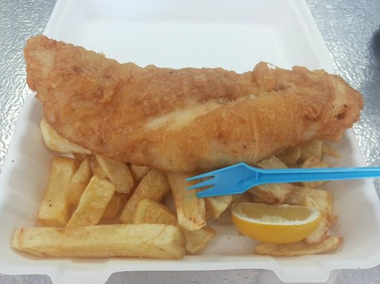 The Big Fish: The yummy fish and chips