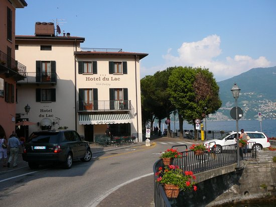 Hotel du Lac: Hotel South Side w/Piazza Garibaldi
