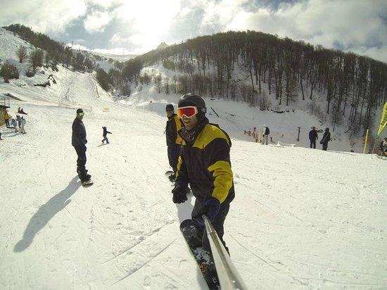 La Base Escuela de Ski & Snowboard: Na base intermediária entre Princesa 1 e Princesa 2