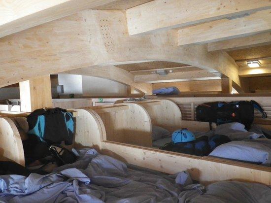 gear room picture of refuge du gouter chamonix tripadvisor. Black Bedroom Furniture Sets. Home Design Ideas