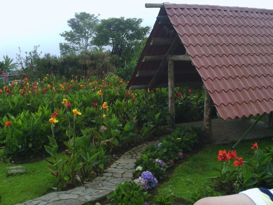Restaurante El Rancho del Sapito: Vista de los jardines