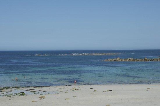 R'Vélo : spiaggia sulla manica isola di Batz