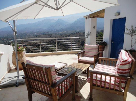 Panokosmos Holidays : Rooftop terrace