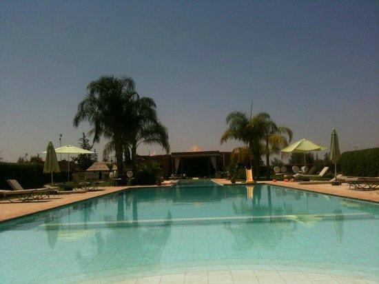 Les Résidences Du Domaine : La piscine du Domaine de l'Ourika