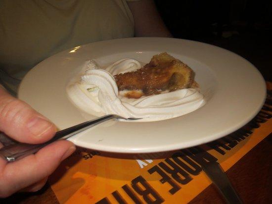 Premier Inn Tamworth Central Hotel: pudding