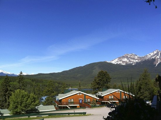 Pyramid Lake Resort: view from room