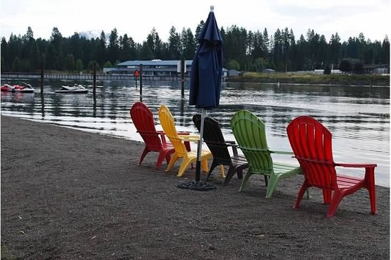 Blackwell Island RV Park: Great beach!