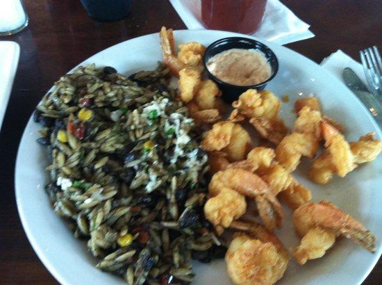 Salt Life Food Shack: Black beans and orzo. Soooo good!!