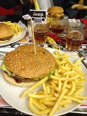 Crazy Driver Diner: Hamburger