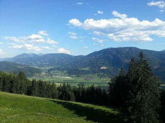 Panorama Berghotel: Widok z pokoju
